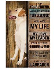 LABRADOR DOG LOVER 11x17 Poster front