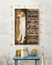 LABRADOR DOG LOVER 11x17 Poster lifestyle-holiday-poster-3