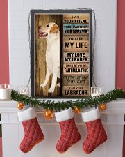 LABRADOR DOG LOVER 11x17 Poster lifestyle-holiday-poster-4