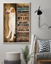 LABRADOR DOG LOVER 11x17 Poster lifestyle-poster-1
