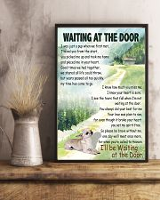 CHIHUAHUA DOG WAITTING AT THE DOOR 11x17 Poster lifestyle-poster-3