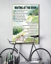 CHIHUAHUA DOG WAITTING AT THE DOOR 11x17 Poster lifestyle-poster-7