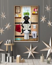 LABRAODOR PUPPY SITTING ON A TOILET 11x17 Poster lifestyle-holiday-poster-1