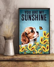 CAVALIER SPANIEL YOU ARE MY SUNSHINE 11x17 Poster lifestyle-poster-3