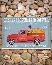 GERMAN SHORTHAIRED POINTER RED TRUCK PUMPKIN FARM 17x11 Poster poster-landscape-17x11-lifestyle-15