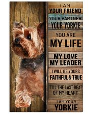 YORKSHIRE TERRIER DOG LOVER 11x17 Poster front