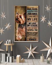YORKSHIRE TERRIER DOG LOVER 11x17 Poster lifestyle-holiday-poster-1