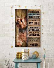 YORKSHIRE TERRIER DOG LOVER 11x17 Poster lifestyle-holiday-poster-3