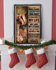 YORKSHIRE TERRIER DOG LOVER 11x17 Poster lifestyle-holiday-poster-4