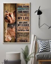 YORKSHIRE TERRIER DOG LOVER 11x17 Poster lifestyle-poster-1