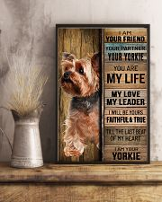YORKSHIRE TERRIER DOG LOVER 11x17 Poster lifestyle-poster-3
