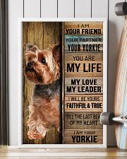 YORKSHIRE TERRIER DOG LOVER 11x17 Poster lifestyle-poster-4