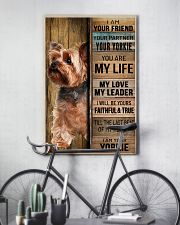 YORKSHIRE TERRIER DOG LOVER 11x17 Poster lifestyle-poster-7