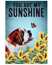 SAINT BERNARD DOG YOU ARE MY SUNSHINE 11x17 Poster front