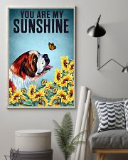 SAINT BERNARD DOG YOU ARE MY SUNSHINE 11x17 Poster lifestyle-poster-1