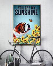 SAINT BERNARD DOG YOU ARE MY SUNSHINE 11x17 Poster lifestyle-poster-7