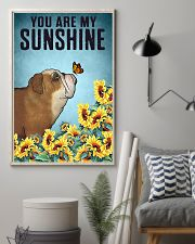 CUTE BULLDOG PUPPIES YOU ARE MY SUNSHINE 11x17 Poster lifestyle-poster-1