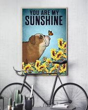 CUTE BULLDOG PUPPIES YOU ARE MY SUNSHINE 11x17 Poster lifestyle-poster-7