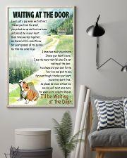 BULLDOG WAITING AT THE DOOR 11x17 Poster lifestyle-poster-1