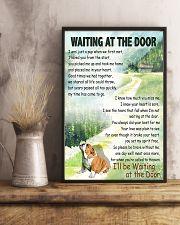 BULLDOG WAITING AT THE DOOR 11x17 Poster lifestyle-poster-3