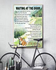 BULLDOG WAITING AT THE DOOR 11x17 Poster lifestyle-poster-7