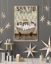 SHIH TZU WASH YOUR PAWS 11x17 Poster lifestyle-holiday-poster-1