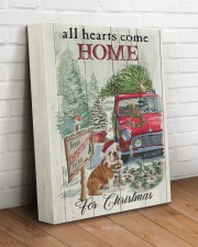 BULLDOG COME HOME FOR CHRISTMAS 11x14 Gallery Wrapped Canvas Prints aos-canvas-pgw-11x14-lifestyle-front-14