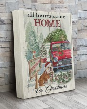BULLDOG COME HOME FOR CHRISTMAS 11x14 Gallery Wrapped Canvas Prints aos-canvas-pgw-11x14-lifestyle-front-20