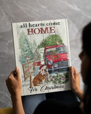 BULLDOG COME HOME FOR CHRISTMAS 11x14 Gallery Wrapped Canvas Prints aos-canvas-pgw-11x14-lifestyle-front-51