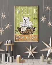 WEST HIGHLAND WHITE TERRIER LAUNDRY ROOM 11x17 Poster lifestyle-holiday-poster-1