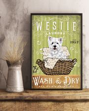 WEST HIGHLAND WHITE TERRIER LAUNDRY ROOM 11x17 Poster lifestyle-poster-3