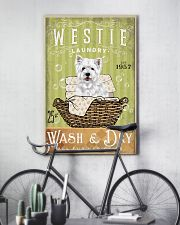 WEST HIGHLAND WHITE TERRIER LAUNDRY ROOM 11x17 Poster lifestyle-poster-7