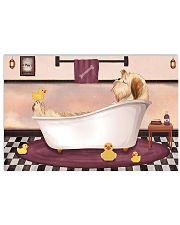 SHIH TZU RELAX ON BATH TUB 17x11 Poster front