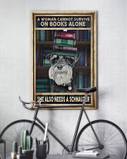 WOMAN ALSO NEEDS SCHNAUZER 11x17 Poster lifestyle-poster-7