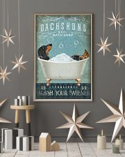 DACHSHUND DOG WASH YOUR WIENER 11x17 Poster lifestyle-holiday-poster-1