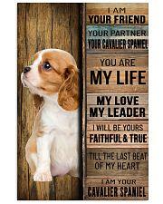 CAVALIER KING SPANIEL DOG LOVER 11x17 Poster front