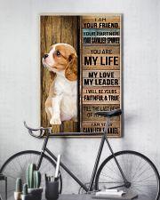 CAVALIER KING SPANIEL DOG LOVER 11x17 Poster lifestyle-poster-7