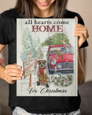BOXER DOG ALL HEARTS COME HOME FOR CHRISTMAS 11x14 Gallery Wrapped Canvas Prints aos-canvas-pgw-11x14-lifestyle-front-23