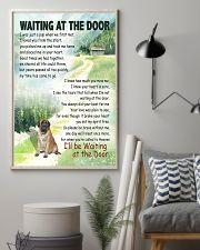 ENGLISH MASTIFF DOG WAITTING AT THE DOOR 11x17 Poster lifestyle-poster-1