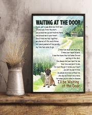 ENGLISH MASTIFF DOG WAITTING AT THE DOOR 11x17 Poster lifestyle-poster-3