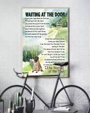 ENGLISH MASTIFF DOG WAITTING AT THE DOOR 11x17 Poster lifestyle-poster-7