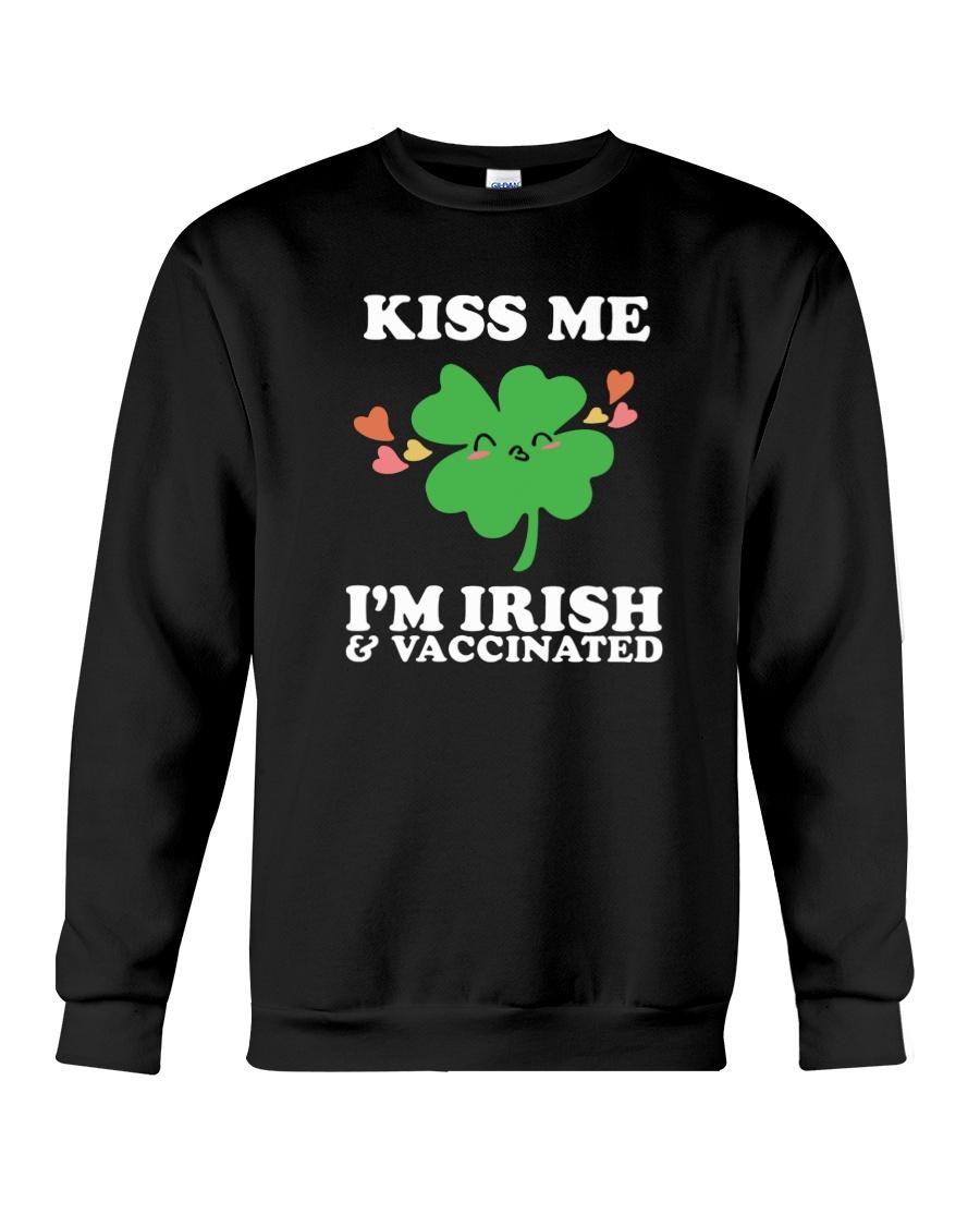 Kiss Me I'm Irish And Vaccinated Shirt