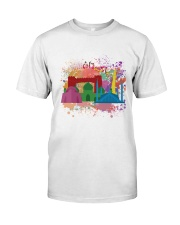Colourful Pakistan  Classic T-Shirt front