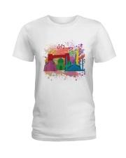 Colourful Pakistan  Ladies T-Shirt thumbnail