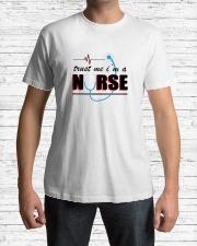 A Pround Nurse Classic T-Shirt lifestyle-mens-crewneck-front-1