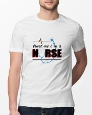A Pround Nurse Classic T-Shirt lifestyle-mens-crewneck-front-13