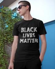 black live matter Classic T-Shirt apparel-classic-tshirt-lifestyle-17