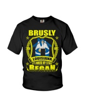Brusly-LA proud my home Shirt Youth T-Shirt thumbnail
