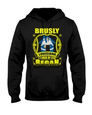 Brusly-LA proud my home Shirt Hooded Sweatshirt thumbnail
