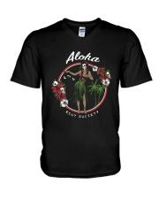 Aloha Hawaii V-Neck T-Shirt thumbnail